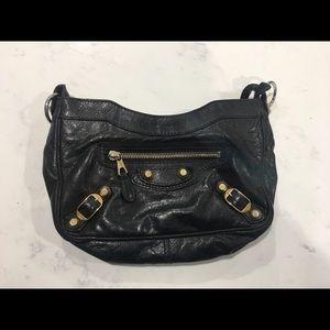 Balenciaga Black Crossbody Bag with dustbag